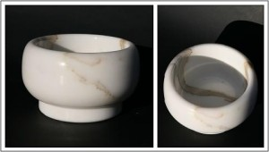 Bowl Carrara Marble