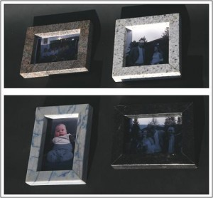Picture frames in granite