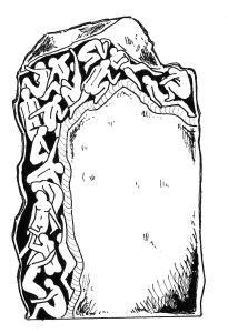 Design for headstone