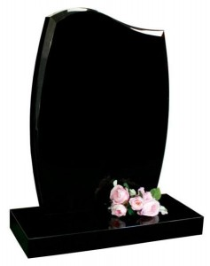 Headstone Black Curve