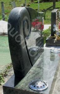 Headstone Koru