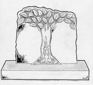 Headstone Deep Shade