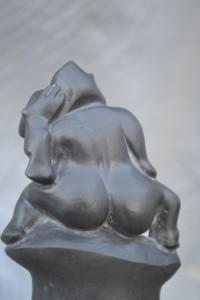 Greywacke Carving