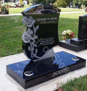 Headstones & Plaques – Pricelist, Gallery and Designs | A Touch of Stone