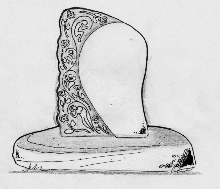 Headstone entangled story