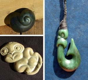 Greenstone-Bone-carving