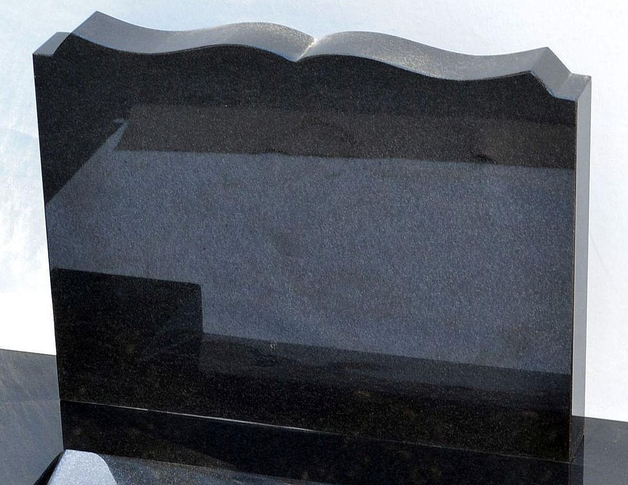 Headstone-book-shape