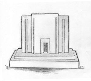Headstone-Tempel-Black